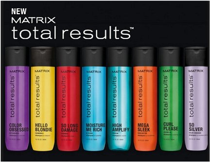 MATRIX - Total results - new look packaging - all the favourites